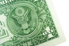 Un dólar Bill Foto de archivo