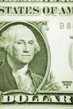 Un dólar de los E.E.U.U. Fotografía de archivo libre de regalías
