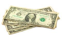 Un dólares Imagen de archivo