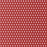 Un 3D rosso ha reso il modello di superficie strutturato del diamante Immagine Stock Libera da Diritti