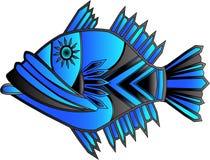 un d'un poisson aimable illustration de vecteur