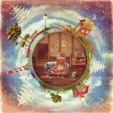 Pequeño planeta amistoso Imagen de archivo libre de regalías