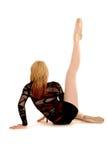 Un danseur pose photographie stock