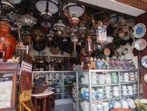 Un de la stalle en Triwindu Art Market Images libres de droits