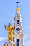 Un des centres du pèlerinage chrétien Fatima, le Portugal photo stock