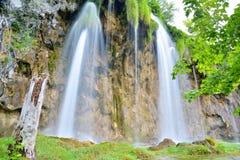 Un des endroits les plus beaux au monde Plitvice - Croatie Photographie stock