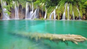 Un des endroits les plus beaux au monde Plitvice - Croatie Photographie stock libre de droits