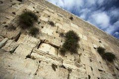 Le mur pleurant Images libres de droits