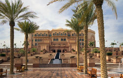 Un des hôtels à Dubaï Photos libres de droits