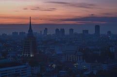 Un des temples de Bangkok Images stock