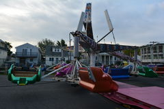 Un des tours de carnaval dans le New Jersey Photographie stock