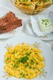 Un desayuno caluroso Foto de archivo libre de regalías