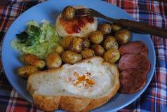 Un desayuno delicioso y caluroso 2 Fotografía de archivo