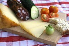 Un desayuno hecho con la comida natural y sana foto de archivo libre de regalías