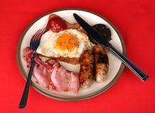 Un desayuno inglés Imágenes de archivo libres de regalías