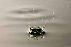 Un descenso de la extensión del agua. Foto de archivo libre de regalías