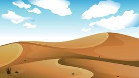 Un desierto Imagenes de archivo