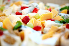 Un dessert squisito Immagini Stock Libere da Diritti