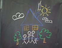 Un dessin de childs Image libre de droits