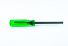 Un destornillador verde Stock de ilustración