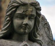 Un detalle de un ángel Foto de archivo