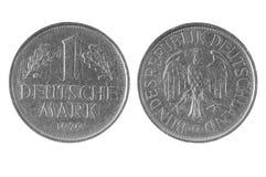 Un Deutsche Mark, pièce de monnaie 1979 de l'Allemagne Image stock
