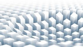 un diagramma di superficie di 3 colonne bianche di d illustrazione di stock