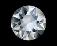 Un diamante Fotografia Stock Libera da Diritti