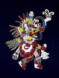 Un dieu aztèque Images libres de droits
