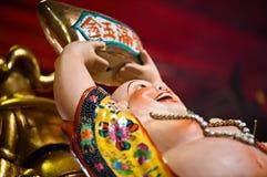 Un dieu chinois de prospérité Photos libres de droits