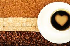 un dieu de café Photos stock
