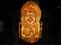 Un dieu de Newari Photographie stock