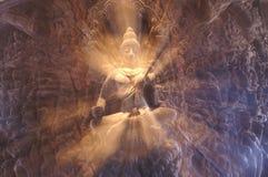 Un dieu de pouvoir Image libre de droits
