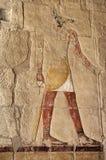 Un dieu égyptien Anubis Photos stock