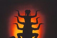 Un dieu indien Image stock