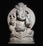 Un dieu indou de Ganesh d'isolement Photos libres de droits