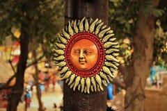 Un dieu soleil Photographie stock