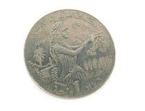 Un dinaro di Tunisi Immagine Stock