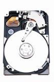 Un disco duro destapado Imagen de archivo libre de regalías