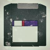 Un disco sucio viejo de la cremallera Foto de archivo libre de regalías
