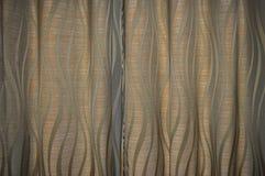 Un diseño de la cortina Imagen de archivo