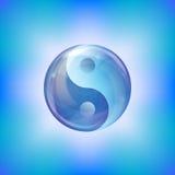 Burbuja de Yin yang Imagenes de archivo