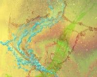Un diseño gráfico abstracto con un arco iris coloreó el fondo Fotos de archivo libres de regalías
