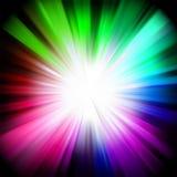 Un disegno multicolore con un burst. ENV 8 illustrazione di stock