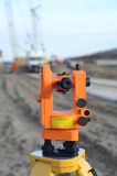 Un dispositivo per le misure accurate nel campo Fotografie Stock