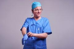 Un docteur masculin Photographie stock libre de droits
