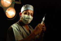 Un docteur théâtre en fonction Photo libre de droits