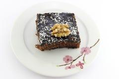 Un dolce del cacao della parte Fotografia Stock