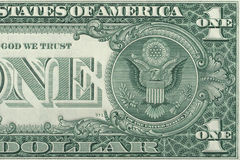 Un dollar Photo stock