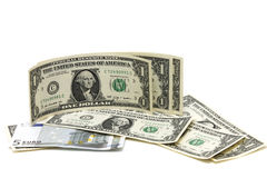 Un dollaro Immagini Stock